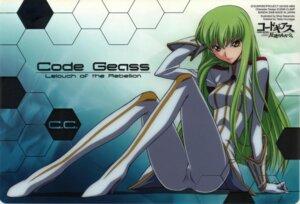 Rating: Safe Score: 35 Tags: bodysuit c.c. code_geass sakamoto_shuuji User: Aurelia