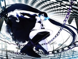 Rating: Safe Score: 44 Tags: bikini_top black_rock_shooter black_rock_shooter_(character) buriki vocaloid wallpaper User: konstargirl
