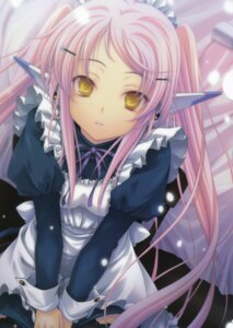 Rating: Safe Score: 52 Tags: maid miyama-zero stray_moon thighhighs User: admin2
