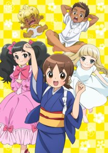 Rating: Safe Score: 5 Tags: dress horns kimono summer_dress wakaokami_wa_shougakusei! User: saemonnokami