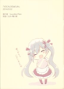 Rating: Questionable Score: 8 Tags: amene_kurumi chibi hatsune_miku maid vocaloid waitress User: Radioactive
