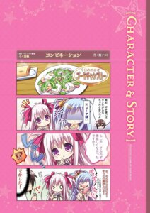 Rating: Safe Score: 2 Tags: 4koma chibi digital_version lump_of_sugar moekibara_fumitake oumi_kokoro sekai_to_sekai_no_mannaka_de User: Checkmate