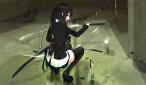 Rating: Safe Score: 102 Tags: kikivi sword thighhighs User: Sanderu