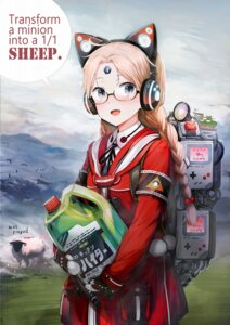 Rating: Safe Score: 17 Tags: headphones megane shirakaba User: blooregardo