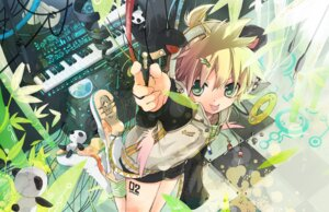 Rating: Safe Score: 8 Tags: hekicha kagamine_len vocaloid User: hobbito