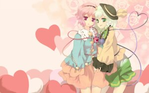 Rating: Safe Score: 10 Tags: komeiji_koishi komeiji_satori touhou uruugekka wallpaper User: Mr_GT