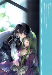 Rating: Safe Score: 42 Tags: c.c. cleavage code_geass creayus dress lelouch_lamperouge rangetsu User: Aurelia