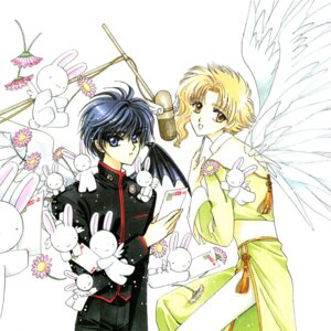 Rating: Safe Score: 3 Tags: clamp kohaku_(wish) shirou_kamui usagi_(wish) wish x User: Share
