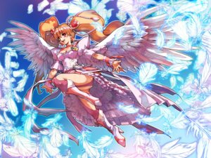 Rating: Safe Score: 26 Tags: fresh_pretty_cure! hisahiko momozono_love pretty_cure wallpaper wings User: Lord_Satorious