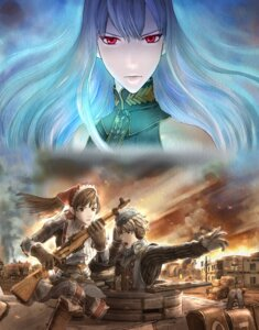 Rating: Safe Score: 11 Tags: alicia_melchiott gun headphones selvaria_bles uniform valkyria_chronicles welkin_gunther User: Radioactive