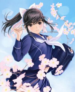 Rating: Safe Score: 51 Tags: love_plus mino_taro seifuku takane_manaka User: fireattack