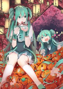 Rating: Safe Score: 41 Tags: hatsune_miku vocaloid xiaonuo_(1906803064) User: charunetra