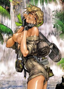 Rating: Questionable Score: 36 Tags: breasts jpeg_artifacts kasamoto_eri metal_slug nipples no_bra open_shirt shirow_masamune wet User: gb40