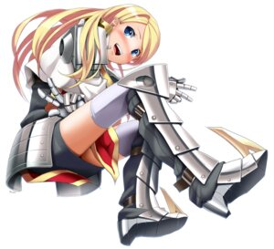 Rating: Safe Score: 17 Tags: armor eto thighhighs User: Radioactive