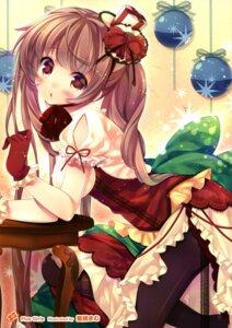 Rating: Questionable Score: 65 Tags: dress mitsumomo_mamu pantyhose User: Twinsenzw
