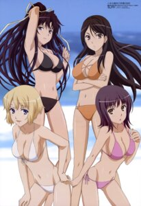 Rating: Safe Score: 104 Tags: bikini cleavage fukiyose_seiri itsuwa kanzaki_kaori orsola_aquinas shinohara_kenji swimsuits to_aru_majutsu_no_index User: vita