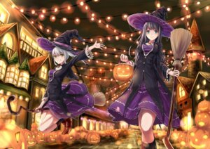 Rating: Safe Score: 37 Tags: aira_(gohei708) dress halloween witch User: Mr_GT