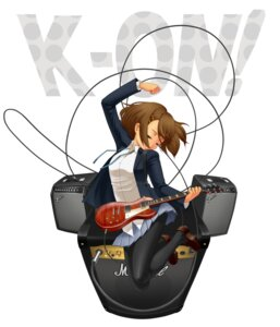 Rating: Safe Score: 14 Tags: guitar hirasawa_yui k-on! rin2008 seifuku User: charunetra