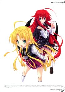 Rating: Questionable Score: 33 Tags: asia_argento devil erect_nipples highschool_dxd miyama-zero rias_gremory seifuku wings User: crim