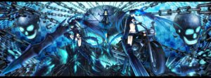 Rating: Safe Score: 16 Tags: black_rock_shooter black_rock_shooter_(character) dead_master dress gun horns insane_black_rock_shooter sword vocaloid wings yuuno_(yukioka) User: charunetra