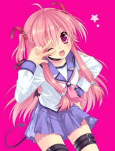 Rating: Safe Score: 43 Tags: angel_beats! sakura_neko seifuku tail yui_(angel_beats!) User: blooregardo