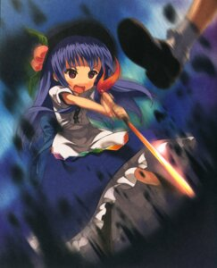 Rating: Safe Score: 5 Tags: hinanawi_tenshi moriki_takeshi touhou User: Radioactive