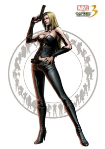 Rating: Safe Score: 20 Tags: cleavage devil_may_cry gun heels marvel_vs_capcom marvel_vs_capcom_3 shinkirou trish User: Dantares