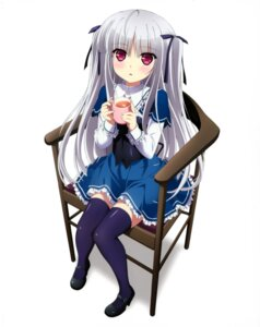 Rating: Safe Score: 78 Tags: absolute_duo seifuku thighhighs yurie_sigtuna User: donicila