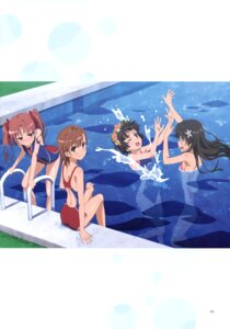 Rating: Questionable Score: 19 Tags: kimoto_shigeki misaka_mikoto saten_ruiko school_swimsuit shirai_kuroko swimsuits to_aru_kagaku_no_railgun to_aru_kagaku_no_railgun_s to_aru_majutsu_no_index uiharu_kazari wet User: Twinsenzw