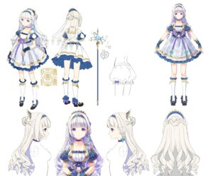 Rating: Safe Score: 30 Tags: bloomers character_design dress h2so4 heels sketch weapon User: Dreista
