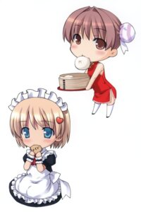 Rating: Safe Score: 12 Tags: chibi chinadress maid noantica ooji User: midzki