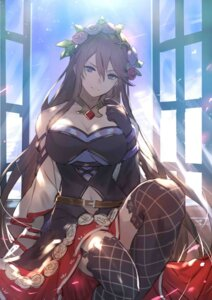 Rating: Safe Score: 60 Tags: cleavage dress granblue_fantasy kakage rosetta_(granblue_fantasy) stockings thighhighs User: Spidey