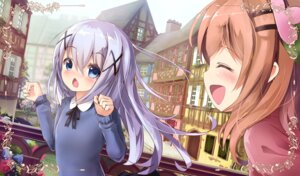 Rating: Safe Score: 35 Tags: apple228 gochuumon_wa_usagi_desu_ka? hoto_cocoa kafuu_chino User: Mr_GT