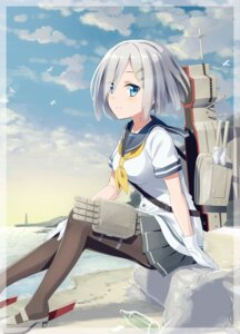 Rating: Safe Score: 78 Tags: ayuya_naka_no_hito gochou_(comedia80) hamakaze_(kancolle) heels kantai_collection pantyhose seifuku User: Mr_GT