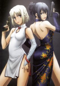 Rating: Safe Score: 60 Tags: alphard canaan canaan_(character) chinadress gun User: Aurelia