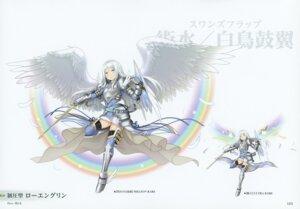 Rating: Safe Score: 7 Tags: armor heels kairisei_million_arthur sword tagme thighhighs uruugekka wings User: Radioactive