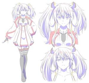 Rating: Safe Score: 9 Tags: character_design maou_gakuin_no_futekigousha seifuku stockings tagme thighhighs User: saemonnokami