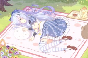 Rating: Safe Score: 54 Tags: dress gochuumon_wa_usagi_desu_ka? kafuu_chino senba_hikari thighhighs tippy_(gochuumon_wa_usagi_desu_ka?) User: Mr_GT