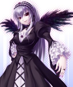 Rating: Safe Score: 15 Tags: asa_(swallowtail) lolita_fashion rozen_maiden suigintou wings User: charunetra