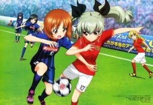 Rating: Safe Score: 52 Tags: anchovy carpaccio girls_und_panzer isuzu_hana itou_takeshi nishizumi_miho reizei_mako soccer User: drop