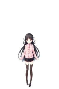 Rating: Safe Score: 29 Tags: cura digital_version hachiroku lose maitetsu seifuku sweater thighhighs User: shadowcrash