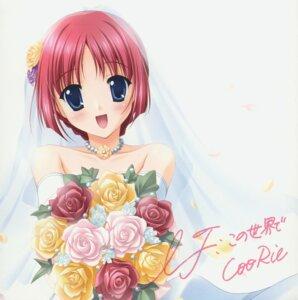 Rating: Safe Score: 13 Tags: da_capo da_capo_(series) disc_cover dress shirakawa_kotori wedding_dress User: withul
