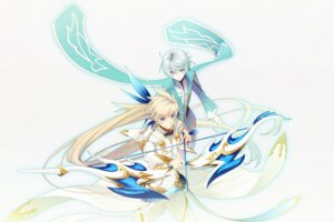 Rating: Safe Score: 16 Tags: 16_ban male mikleo sorey tales_of_zestiria weapon User: charunetra