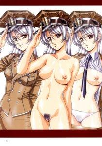 Rating: Explicit Score: 35 Tags: naked nipples open_shirt pantsu pubic_hair uniform urushihara_satoshi User: GP