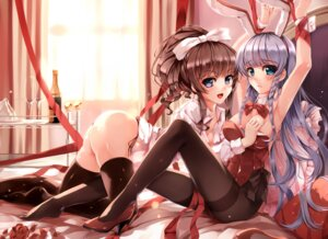 Rating: Questionable Score: 187 Tags: animal_ears ass bondage breast_grab bunny_ears bunny_girl furukawa_yui hanamiya_nagisa heels no_bra pantsu pantyhose string_panties thighhighs ushinawareta_mirai_wo_motomete yumemi_(kiowa) User: saemonnokami