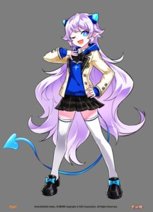 Rating: Safe Score: 19 Tags: elsword lu_(elsword) pointy_ears seifuku tagme tail thighhighs transparent_png User: Nepcoheart