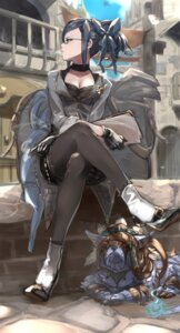 Rating: Safe Score: 49 Tags: cleavage granblue_fantasy heels kumonji_aruto megane pantyhose smoking User: nphuongsun93