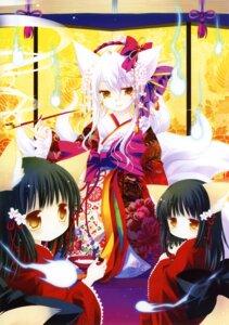 Rating: Safe Score: 19 Tags: animal_ears kimono sakurazawa_izumi tail User: WtfCakes