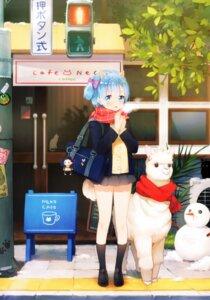 Rating: Safe Score: 16 Tags: animal_ears re_zero_kara_hajimeru_isekai_seikatsu rem_(re_zero) seifuku sweater tagme tail User: Banbinh