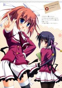 Rating: Questionable Score: 14 Tags: endou_saya fujimaru_mikoto kisaragi_gold_star sesena_yau User: Twinsenzw